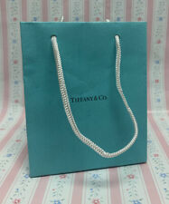 "Authentic Tiffany & Co Blue Paper Gift Bag (Small 6"" x 5"" x 3"") - FREE SHIPPING"