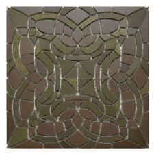 Mosaik Villeroy & Boch Opulent Chic 2866 GB86 braun gold 30 x 30 cm Laserschnitt