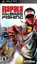 Rapala Pro Bass Fishing UMD PSP GAME SONY PLAYSTATION PORTABLE