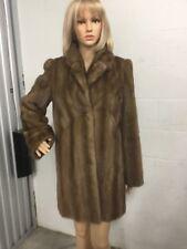 Vintage Brown Fur Coat Size 8