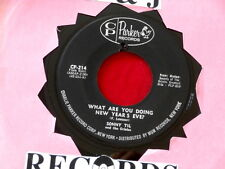 SONNY TIL~ WHAT ARE YOU DOING NEW YEAR'S EVE~ VG++~DON'T MESS AROUND~ DOO WOP 45