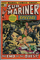 Marvel Comics  The Sub-Mariner King Size Special #2 Jan. 72 End of the Quest FN+