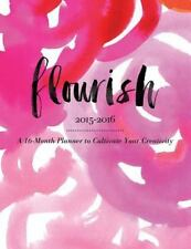 Flourish: A 16-Month Planner to Cultivate Your Creativity, Lee, Monica, New Book