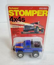 Mn103 Mint On Card Vintage 80'S Stomper Blue Jeep Honcho 4X4 Nos Find!