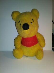 Winnie The Pooh Walt Disney Sears Wind Up Musical Plush Toy Theme Works