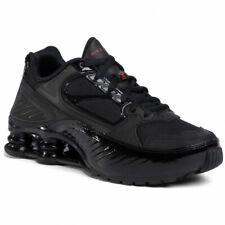 Nike Women's Shox Enigma Triple Black Gym Red BQ9001-001