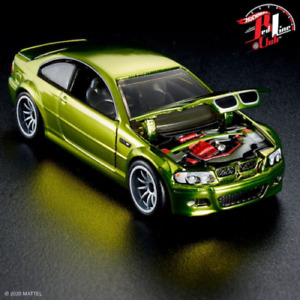 2021 HOT WHEELS RLC EXCLUSIVE 2006 BMW M3 SPECTRAFLAME YELLOW NEW MINT