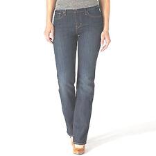 Levis Curve ID Demi-Curve Slim-Leg Classic Rise Red Tab Medium Wash Jeans NEW 10