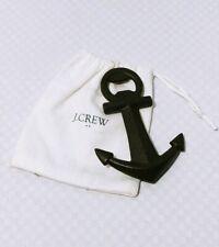 J.CREW Anchor Bottle Opener Cast Iron