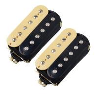 Zebra Electric Guitar Pickups Humbucker Set Neck Bridge Dual Pickup Guitar Parts