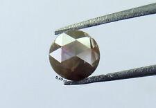 0.69 ct Natural Loose Diamond Round Rose Cut Grey Color K267 BBK