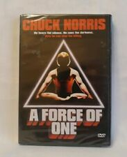 A Force of One (DVD, 2004) Chuck Norris-SEALED