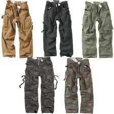 Surplus Vintage Fatigue Trouser Outdoor BW Army Herren Cargohose Hose 3596