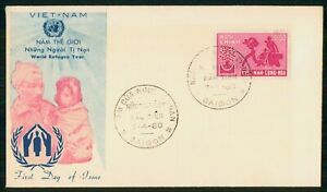 Mayfairstamps Vietnam FDC 1960 Family World Refugee Year Saigon First Day Cover