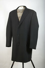 P1315/DM MARKS & SPENCER MISTO LANA DI SARTORIA 3/4 Elegante Cappotto Giacca, XXL