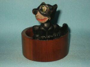 1920s Felix The Cat Wooden Napkin Ring