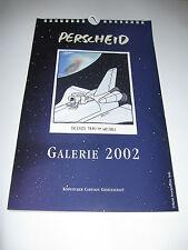 Galerie 2002 Martin Perscheid Wandkalender 29 x 18 cm  ungebraucht