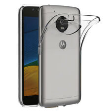 "Housse Etui Coque Gel UltraSlim TRANSPARENT pour Lenovo Motorola Moto G5 5.0"""