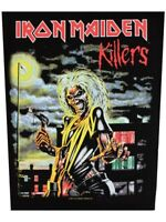 Iron Maiden Patch Killers back Black 29x36cm