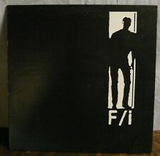 F/i Why Not Now? Alan! Vinyl LP RRRecords 1987 Industrial Music