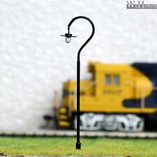 10 x OO / HO gauge led street lights Model Railway Lamp posts Path Lamps #R35H