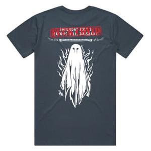The Amity Affliction 2021 Bris Tour Band Rock Metal Punk T Shirt Size L XL XXL