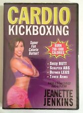 "Jeanette Jenkins The Hollywood Trainer ""Cardio Kickboxing"" DVD (2012) BRAND NEW"