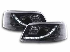 Scheinwerfer Set Daylight LED TFL-Optik VW Bus Typ T5 Bj. 03-09 schwarz