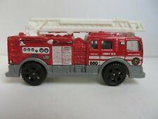 Matchbox Cars MB660 Fire Ladder Truck Red #2033