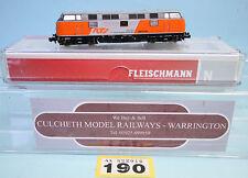 FLEISCHMANN 'N' 725075 RTS 221.105 LOCO VI 'DCC SOUND' BOXED #190