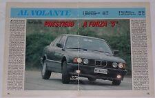 Article Articolo 1992 BMW 518i 530i SERIE 5 E34