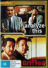 ANALYZE THIS / GRILLED, 2 MOVIES Robert De Niro, Billy  Crystal, Ray Ramano,
