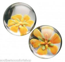 Prisms Erotic Glass Asvani Flower 1 Inch Ben Wa Balls Kegel Exerciser