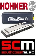 Brand New Hohner Silver Star Key Of E Harmonica Beginner Blues / Folk Harp