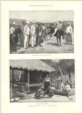 1890 comprar ponis Mandalay birmano woodcarvers