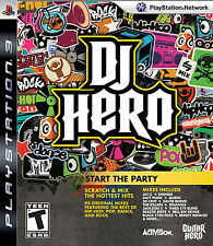 DJ Hero Genuine PS 3 Game 93 Original Mixes NEW SEALED
