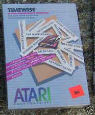 Timewise Atari 800/XL/XE on Disk New. NIB