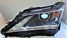 16 17 18 LEXUS RX350 RX450 RX450h LH DRIVER SIDE LED AFS Headlight Complete OEM