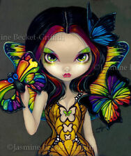 Jasmine Becket-Griffith 'Fairy with a butterfly mask' greeting card