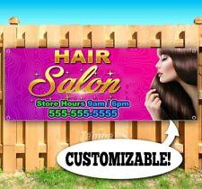 Hair Salon Custom Advertising Vinyl Banner Flag Sign Many Sizes Usa Barber Nail