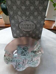 Flower Fairies - Candytuft - Glass Dish