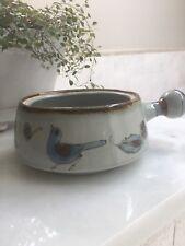 "Vintage Ken Edwards Tonala El Palomar Mexico Pottery 6"" Casserole; no lid"