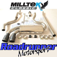 MILLTEK MCXAU103 AUDI COUPE UR QUATTRO 10 V Turbo Sistema di scarico non RES Nero