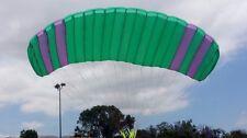 Paraglider paragliding paramotor to practice kiting skills for ground-handling