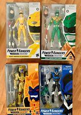 "Power Rangers Lightning Collection Mighty Morphin Green Ranger 6"" LOT"