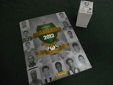 ALBUM PANINI SOCCER BRAZIL CHAMPIONSHIP 2012 + COMPLETE STICKERS SET