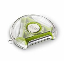 Joseph Joseph Rotary Peeler Compact 3-in-1 Blades, Standard/Serrated/Julienne