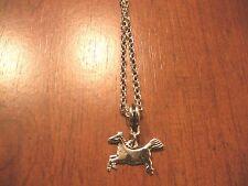 collier 46,5 cm avec pendentif cheval