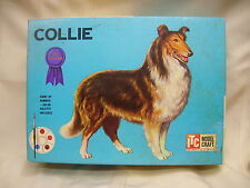 Vintage Model Craft Collie Paint by Number and Easy Assemble Dog Ideal Toy Corp