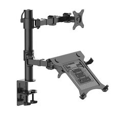 "Laptop Mount & Monitor Mount LCD Arm Desk Stand fits 10""-30"" Monitor 27"" 28"" 24"""